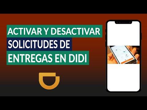 Cómo Activar y Desactivar las Solicitudes Automáticas de Entregas en DIDI Repartidor