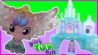 FLURRY HEART & PRINCESS CADANCE CASTLE! | Crystal Empire Playset | MLP Review Bin's Toy Bin