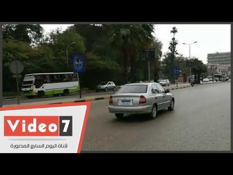 اليوم السابع :النشرة المرورية.. انتظام حركة السيارات بمحاور وميادين القاهرة والجيزة