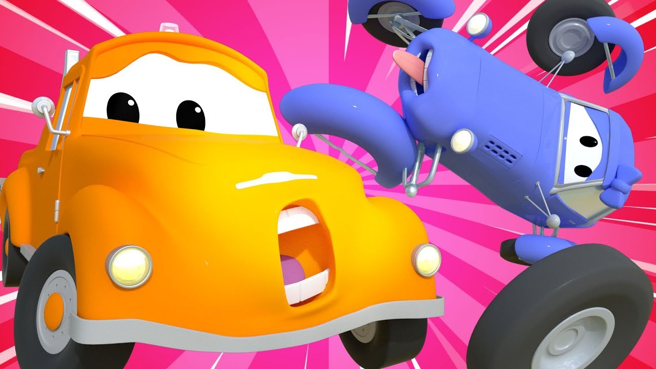 Tom the Tow Truck -  A wheely big issue - Car City ! Cars and Trucks Cartoon for kids