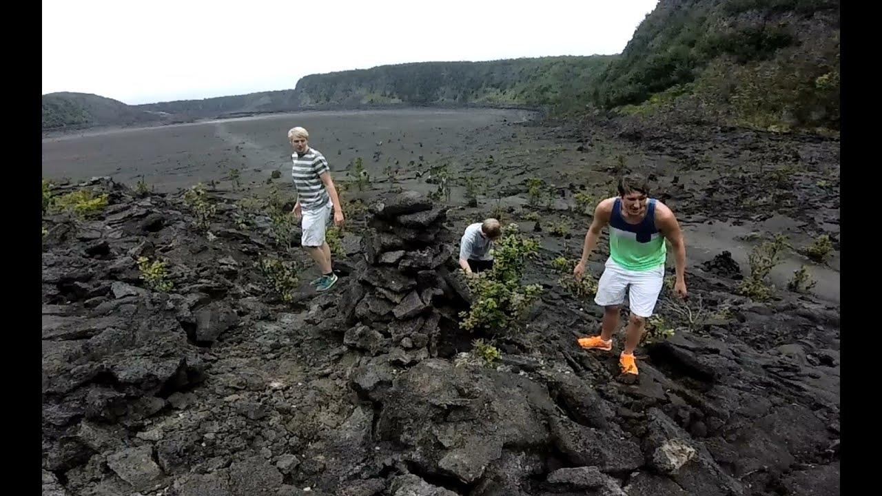 Big Island Hike To Lava