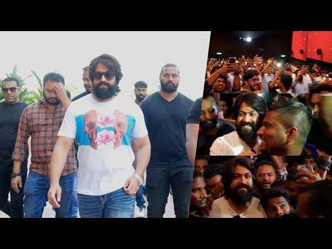 KGF മാസ്സ് ഹീറോ യാഷ് ലുലു മാൾ ഇളക്കി മറിച്ചു ! Yash Mass Entry At Lulu Mall Kochi