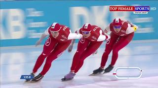 2017 ISU - Team Pursuit - World Cup Speed Skating Stage 1 Heerenveen