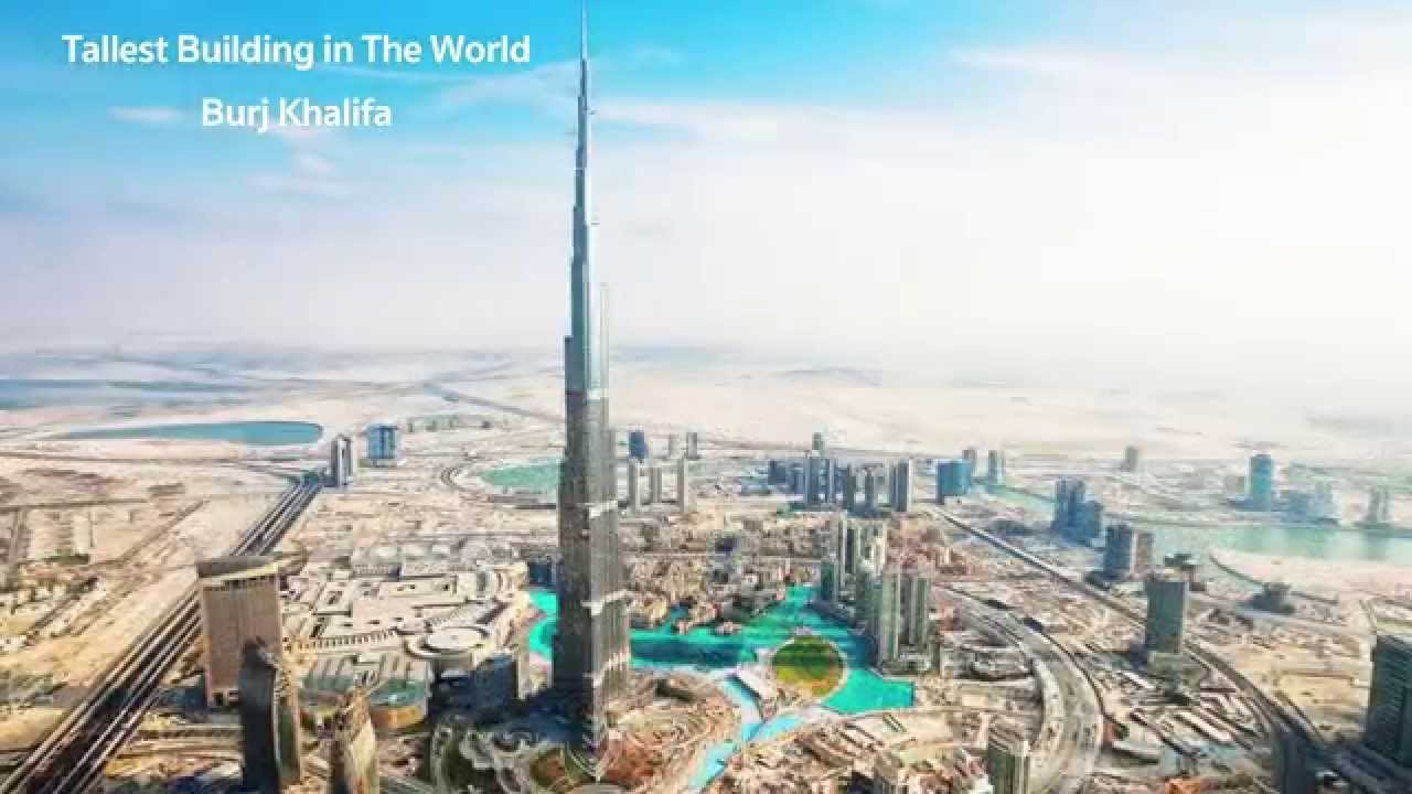 Tallest Building in The World Burj Khalifa - Burj Khalifa - Dubai Burj  Khalifa