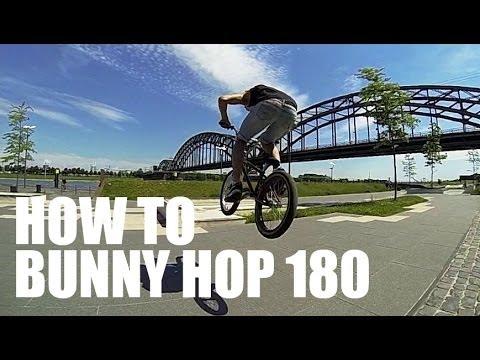 How to 180 bunny hop BMX/MTB - Как сделать банни-хоп 180 на BMX | Школа BMX Online #2 Дима Гордей
