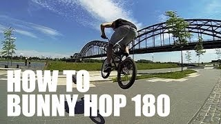 кАК СДЕЛАТЬ 180 НА ВМХ  How to 180 on BMX  spot