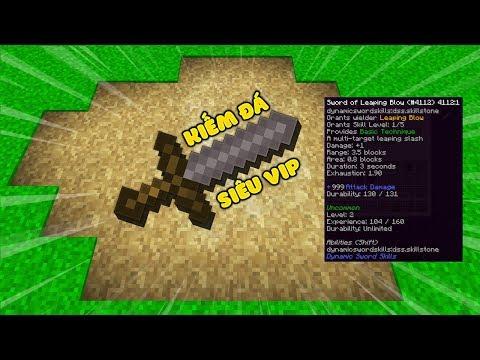 MK GODCRAFT #1: TÌM THẤY THANH KIẾM ĐÁ SIÊU VIP TRONG MINECRAFT (MK Gaming Minecraft)
