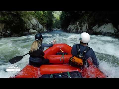 Rafting in Colombia - Rio Verde near Medellin