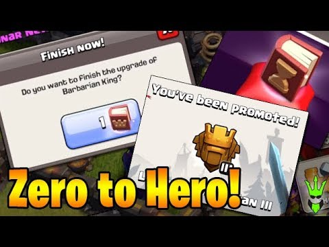 LEVEL 30 KING! + TH9 in Titans! - Zero to Hero Ep.9 - Clash of Clans - TH9 Push to Legends League!