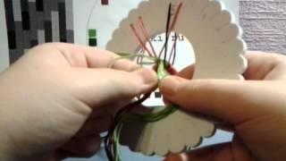 Видеоурок номер 2 плетение кумихимо по схеме