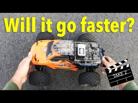 2nd Speed Test With The ARRMA Granite 4x4 BLX On 100C 3S LiPo