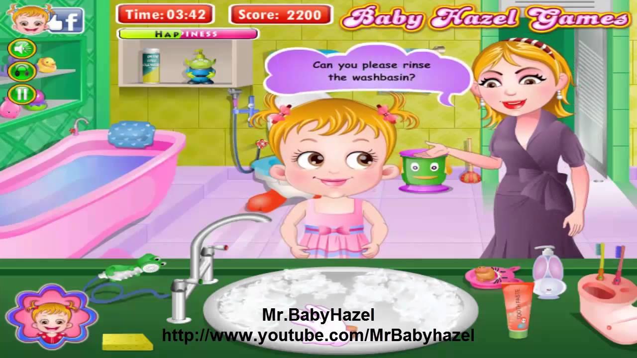 Baby hazel bed time youtube - Baby Hazel Bathroom Hygiene Games Baby Movie Level 1