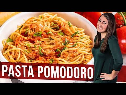 How to Make Pasta Pomodoro   The Stay At Home Chef