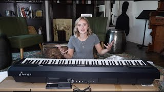 Donner Digital Piano Unboxing and Review (DEP-20 Digital Piano)