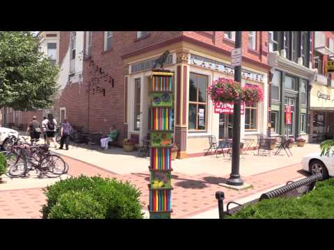 Artful Obelisks Summer Installation in Fairfield, Iowa