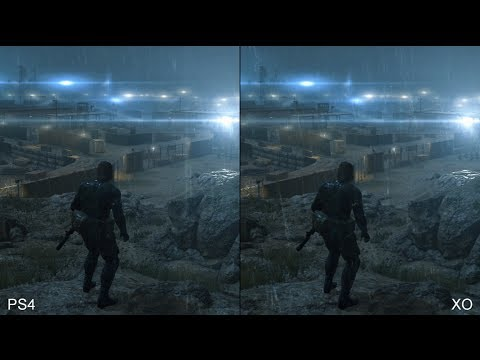 Metal Gear Solid: Ground Zeroes - PS4 vs. Xbox One Comparison