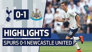 HIGHLIGHTS | SPURS 0-1 NEWCASTLE UNITED