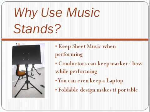 Music Stand Reviews: Read Reviews of the Best Metal & Wooden Stands