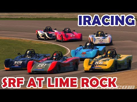 Clean racing for victory in the SRF at Lime Rock! (Oculus Rift CV1)