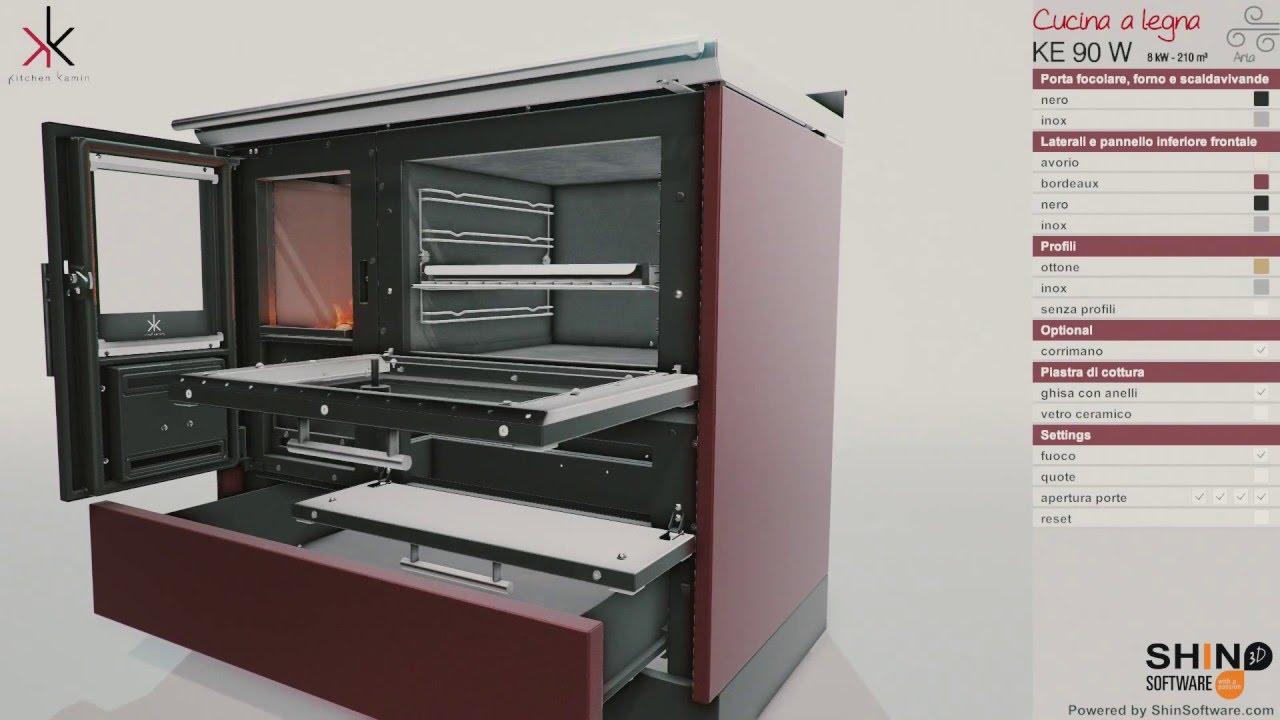 Showin3d   kitchen kamin by edilkamin s.p.a   configuratore di ...