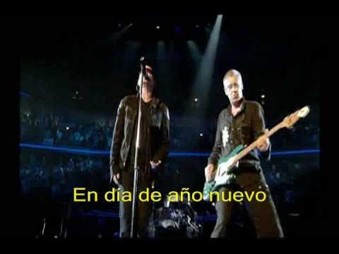 U2 - New year's day - Chicago (Sub. español) [HQ]