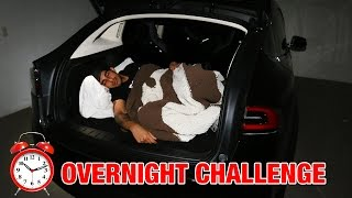 24 HOUR OVERNIGHT CHALLENGE IN TESLA MODEL X