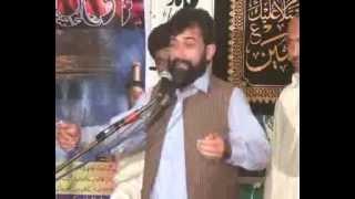 Zakir Ali Raza Shah Daudkhail Qasida Jushan Ali Mubark 13 Rajab 2013