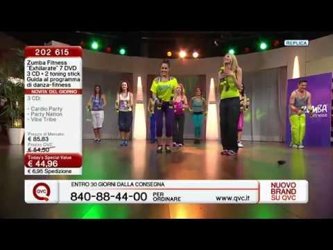 telepromozione ZUMBA FITNESS su qvc italia - YouTube
