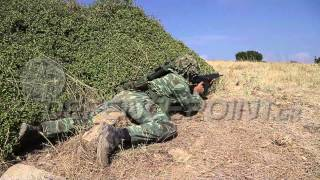 Hellenic Army Leopard 2HEL Training & Firings 2012