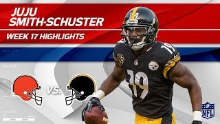 The Cleveland Browns take on the Pittsburgh Steelers in Week 17 of ...