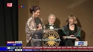 Susi Pudjiastuti Raih Penghargaan Kemaritiman Tertinggi di USA
