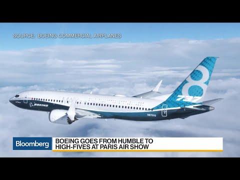 Boeing, 737 Max Win Big at Paris Air Show