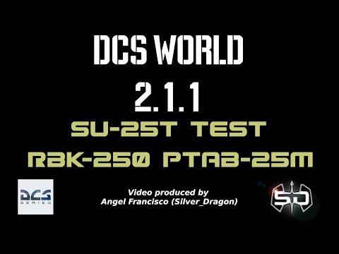 Su-25T / RBK-250 PTAB-25M / DCS World 2.1.1