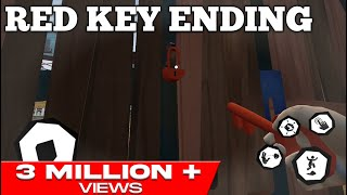 HELLO NEIGHBOR MOBILE ACT 2 RED KEY ENDING WALKTHROUGH