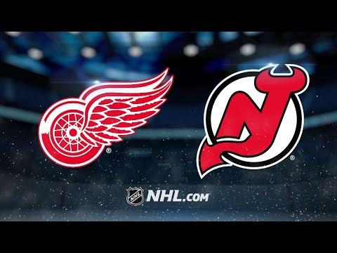 Larkin, Mrazek power Red Wings to 3-0 shutout win
