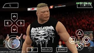 How to Download WWE 2K 17 ISO Games for PPSSPP Android Download Proof