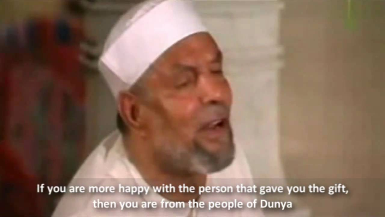Are You From People of Dunya ? - Great Advice from Sheikh Shaarawy