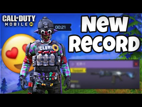 MY NEW RECORD IN CALL OF DUTY MOBILE BATTLE ROYALE 😱 SOME ONE TELL PARKER THE SLAYER TO COLLAB❗️