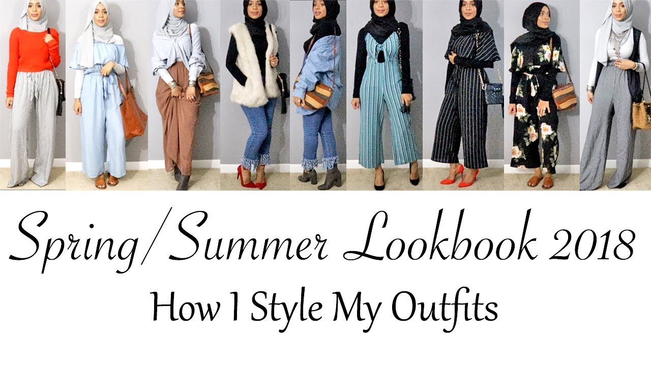 SPRING/SUMMER LOOKBOOK 2018: How I Style My Outfits | AZIZA MOHAMMAD 6