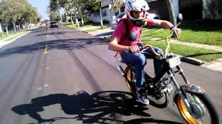 loucos por motos/ role de mobilete dominguera