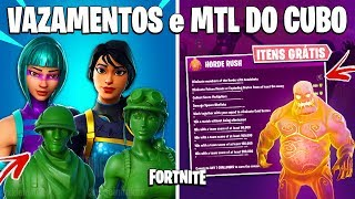 FORTNITE-PLASTIC SKINS, NEW DOUBLE PICKS and CUBE MTL KEVIN?