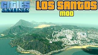 Cities Skylines GTA 5 Los Santos Mod |  Die besten Cities Skylines Mods