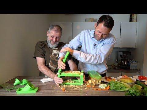 """Nicer Dicer Magic Cube"" im Härtetest: Gemüse-Apokalypse"