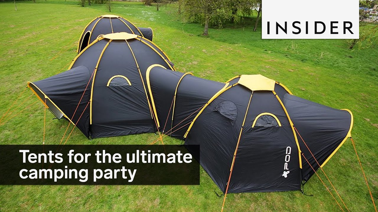 Linking tents & Linking tents - YouTube