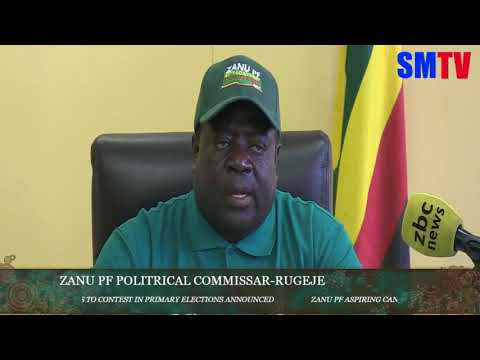 ZANU PF picks candidates for primary elections
