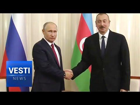 Energy Security, Caspian Sea and Judo Sparring: President Putin Tops Off Busy Baku Trip