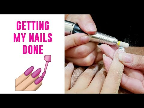 Getting My Nails Done in Singapore - Tina Yong
