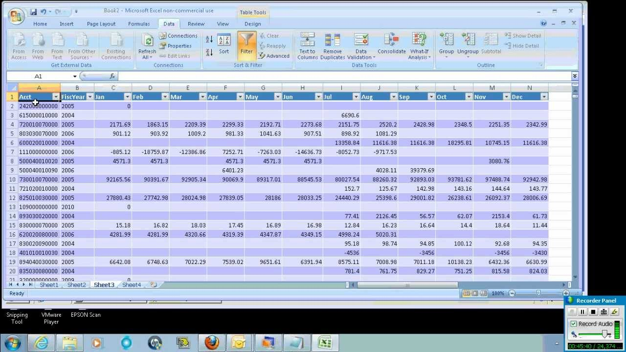 Data Analysis using Excel- Database Queries, Filters and Pivot ...
