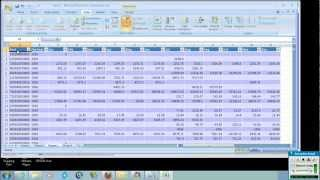 Data Analysis using Excel- Database Queries, Filters and Pivot Tables thumbnail