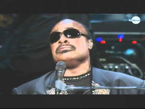 Stevie Wonder crying on a song of MJ - Michael Jackson Tribute 2011